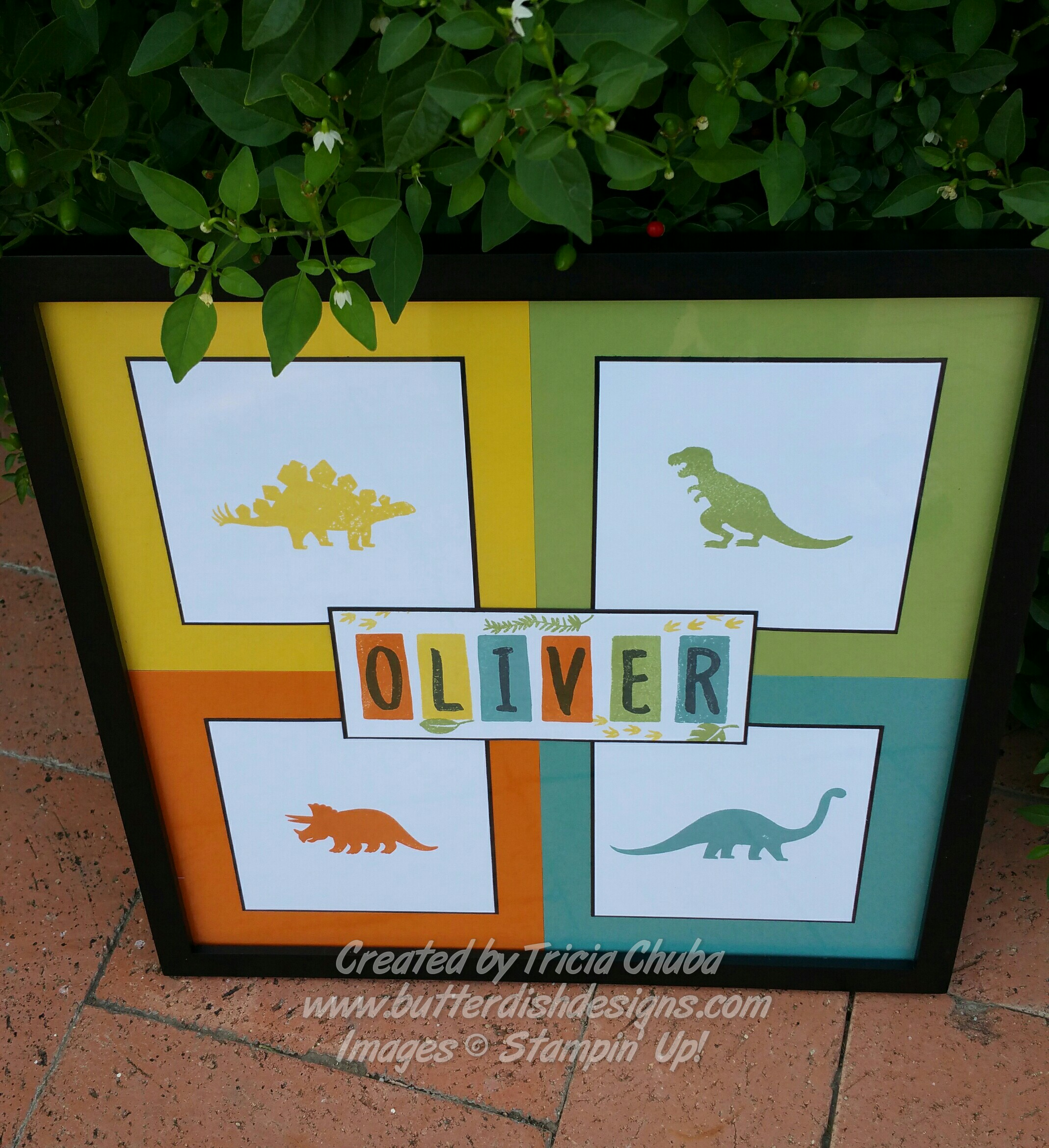 Baby Oliver Wall Art