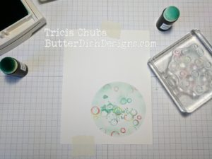ButterDishDesigns - Circle Punch Distress 1