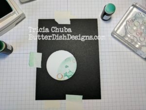 ButterDishDesigns - Circle Punch Distress 2