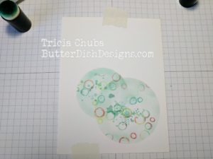 ButterDishDesigns - Circle Punch Distress 3