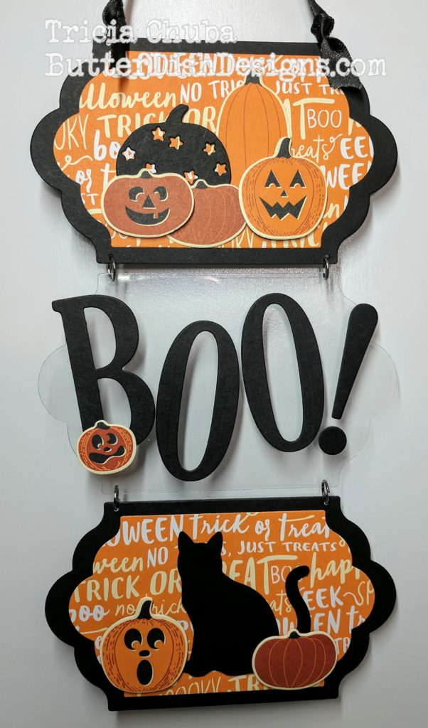 ButterDishDesigns - Boo! Wall Decor 4