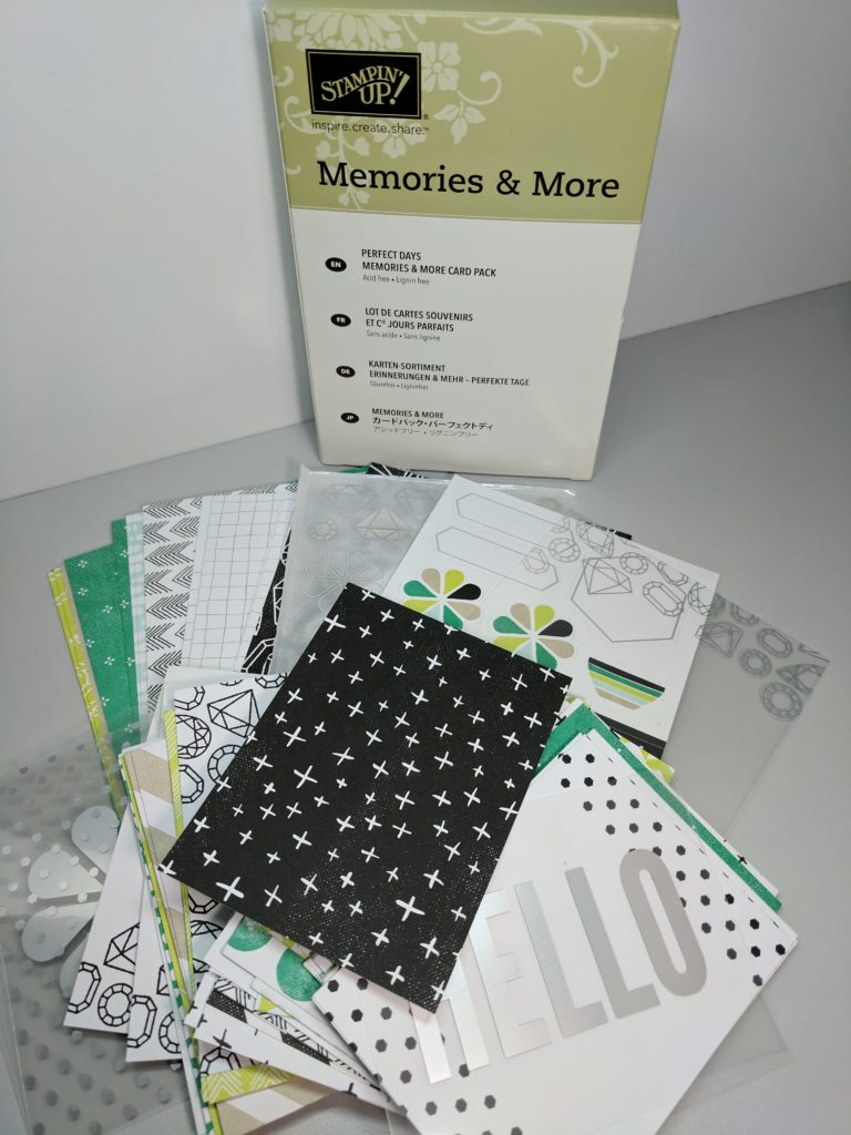 Perfect Days Memories & More Card pack